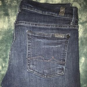 7 For All Mankind slim bootcut jeans!!